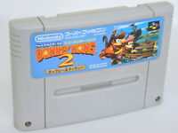 SUPER DONKEY KONG 2 Super Famicom Nintendo SNES Free Shipping Hit-Japan sfc