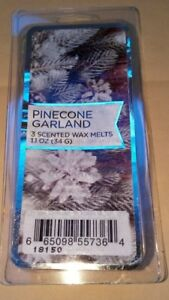 Pinecone Garland 3 Scented Wax Melts 1.1 oz