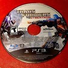 Transformers: War for Cybertron (Sony PlayStation 3, 2010) Disc Only # 5279