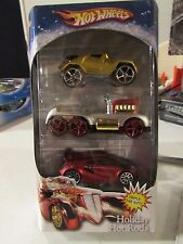 Hot Wheels Holiday Hot Rods Triple the Gift 3 pack! #2