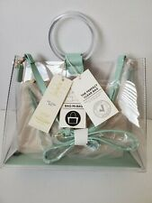 BGW2492 Madison West Round Handle Clear 2 in 1 CarryBag NEW
