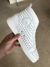 Christian Louboutin Louis Spikes White 45