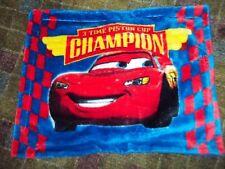 2B Disney Pixar Cars Plush Faux Fur Fluffy Pillow Sham Pillow Case