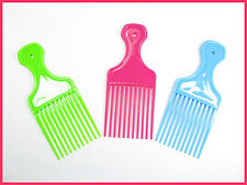 WIDE TOOTH  set of 3  three combs Hair Wig Detangler Afro Comb Wide Teeth pocket