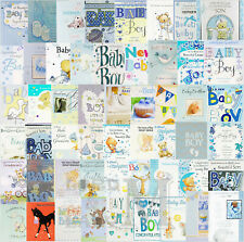 Birth Of Baby Boy / Son / Grandson / Brother / Great-Grandson / Nephew Cards