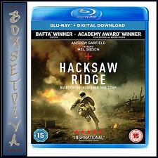 Hacksaw Ridge Blu-ray 2017 DVD Region 2