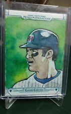 2015 Topps Museum Collection Joe Mauer Minnesota Twins SP 1 of 1 Canvas Art Card