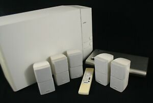 Bose Lifestyle 12 Series II White Corded Portable Home Theater Speaker System