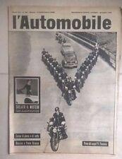 RIVISTA L'AUTOMOBILE N.36 1959 FLAMINIA COUPE PININ FARINA LA SASSI-SUPERGA