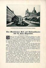 Das Mannheimer Hof- und Nationaltheater und die Aera Hagemann, Dr. Karl v.1910