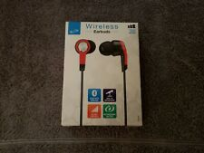 ilive Wireless Earbuds Red and Black Brand New