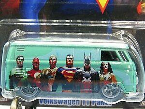 HOT WHEELS VHTF 2018 POP CULTURE SERIES DC HEROES VOLKSWAGEN T1 PANEL
