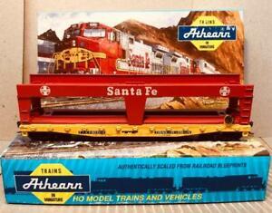 HO Athearn 50'  Autoloader Santa Fe, TTX 140186,  Kadees