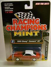 1968 '68 CHEVY CHEVROLET CAMARO SS RED RACING CHAMPIONS MINT DIECAST 2017