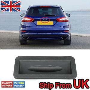 UK Tailgate Boot Lid Release Switch Button For Ford Focus Fiesta MK7 2008-2017