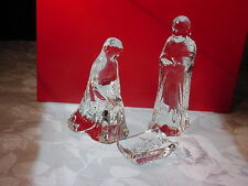 Baccarat NATIVITY HOLY FAMILY: BRAND NEW IN BOX•NEW PRICE for December!!