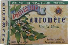 Vanilla-Neem Soap, 2.75 oz, Auromere