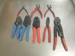 Wire Stripping Pliers Cutters Strippers Joblot X 8 (M)