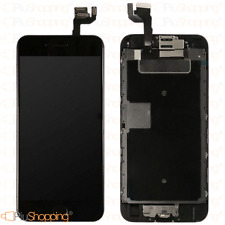 DISPLAY IPHONE 6S ASSEMBLATO COMPLETO FOTOCAMERA TASTO HOME ALTOPARLANTE NERO