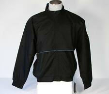 Nike ClimaFit Golf Black Zip Front Jacket Mens Medium Med M NWT $95