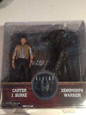 Neca 30th Anniversary Aliens 7 Carter J Burke & Xenomorph Queen DELUXE 2 Pack