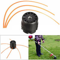 Universal Double Line Trimmer Head Bobbin Set for Gasoline Brush Cutter Lawn HOT