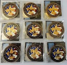 """Boy Scouts of America Lot of 9 2013 FOS """"Thank You"""" Coins - 1.75"""" in diameter"""