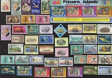 50 PITCARIN ISLAND All Different Stamps (C80)
