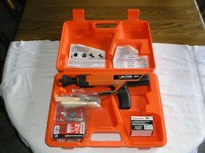 Ramset SA270 Powder Actuated Gun with Case, Semi Auto, 27 Caliber