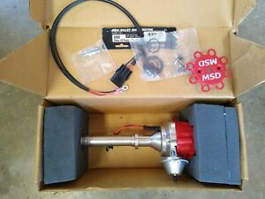 MSD 8360 Pro Billet Ready to Run Distributor SBC BBC Chevy CARB 350 454