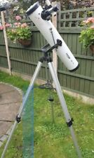 ZENNOX 76 x 700 LARGE WHITE REFLECTOR TELESCOPE WITH TRIPOD ETC.USED ONCE BOXED