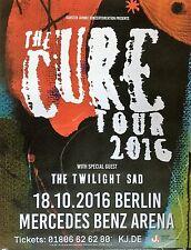 THE CURE 2016  BERLIN  --  orig. Concert Poster - Konzert Plakat  A1  NEU