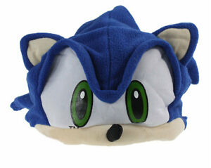 Sonic Plush Hedgehog Character Beanie Cartoon Hat Cap Cosplay Cosplay Costume
