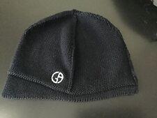 authentic men's Giorgio Armani (beanie) ski hat,  dark blue, 100% wool, size M