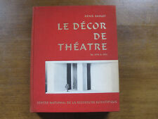 LE DECOR DE THEATRE by Denis Bablet - 1965  1st HC -revolutions in stage design