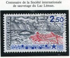 STAMP / TIMBRE FRANCE OBLITERE N° 2373 SAUVETAGE DU LAC LEMAN
