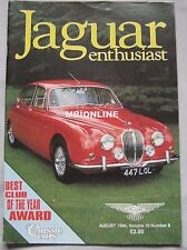 Jaguar Enthusiast magazine August 1994 Vol.10 ,No.8