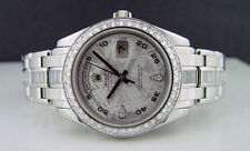 ROLEX - Mens 39mm Platinum Masterpiece Meteorite Diamond Dial - 18956 SANT BLANC