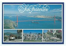 """Scenic Views of San Francisco CA """"The COLLECTOR Series"""" ™ 1989 Postcard UNUSED"""