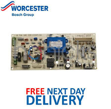 Worcester Bosch Highflow 400 Electronic PCB 87161023390 Genuine Part * NUOVO *
