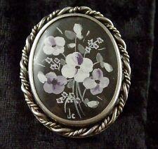 rencontrer service durable garantie de haute qualité broche peint ancien en vente | eBay