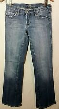 seven for all mankind womens Blue jeans size 27 inseam 32 rise 7