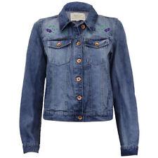 Button Cotton Coats & Jackets for Women's Denim