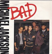 Michael Jackson-Bad Vinyl single