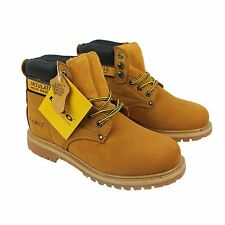 LABO Men 511 TAN Work Safety Leather Boots (E,W)