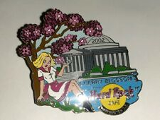 Hard Rock Cafe Washington D.C. Cherry Blossom 02 Enamel Pin 2 Inches Lot H