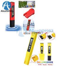 Digital LCD TDS EC Medidor De Ph Agua Pureza PPM filtro hidropónica PISCINA TESTOR