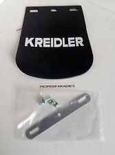 Kreidler Florett K54 RM RMC RMC-S Spritzlappen Schwarz Mokick Moped Neu NEU