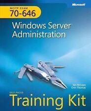 MCITP Self-Paced Training Kit (Exam 70-646) Windows Server Administration HC.