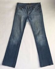 Seven for All Mankind Women's Medium Wash Jeans Straight Leg Jeans Size 27